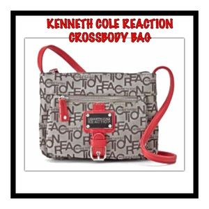 Kenneth Cole Reaction Jacquard Crossbody Bag